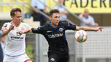 Paderborn siegt in Liga 3: Frankfurt verliert auch gegen Erfurt