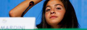 Erst durchs Mittelmeer, nun in Rio: Geflüchtete Schwimmerin dankt Berlin