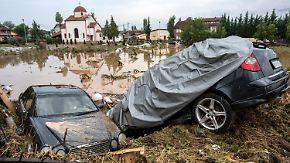 Tote und Verletzte nach Unwetter: Heftige Fluten verwüsten Mazedonien