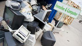 Rücknahme seit zwei Wochen Pflicht: Drücken sich Online-Händler vor Elektroschrott?