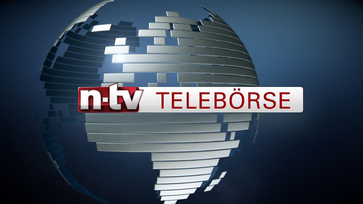 Sendung in voller Länge: Telebörse von 13:15 Uhr - n-tv.de