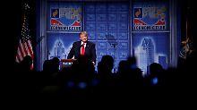 """Kündigte die """"größte Steuerrevolution"""" seit den achtziger Jahren an: Donald Trump."""