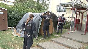 Täter weiter auf der Flucht: Messerstecher attackiert Passanten in Magdeburg