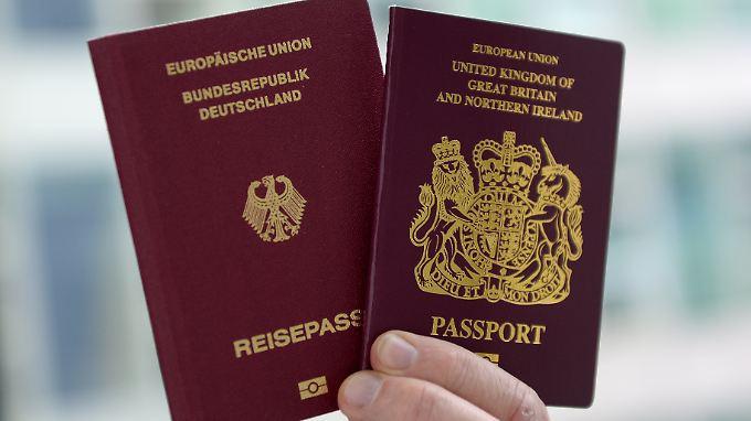 Anfragen in Deutschland steigen: Rund 600.000 Briten wollen nach Brexit auswandern