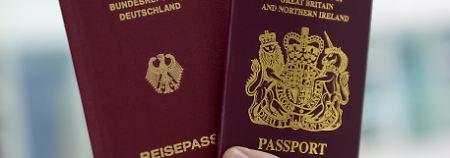 Nur Türken öfter eingebürgert: Tausende Briten werden Deutsche