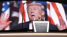 Zweideutige Äußerung: Ruft Trump zu Gewalt gegen Clinton auf?