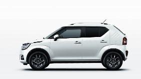Der neue Suzuki Ignis würde sich auch gut als neuer Jimny machen.