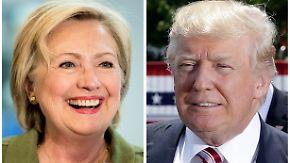 Kehrtwende im US-Wahlkampf: Clinton und Trump einig: Freihandel, nein danke!