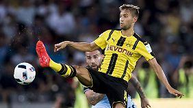 Moritz Leitner feiert sein Debüt bei Lazio bereits am Wochenende.