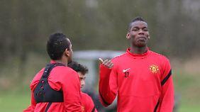 Fans von Manchester United müssen sich noch etwas gedulden, ehe sie Paul Pogba im Trikot der Red Devils aufläuft.