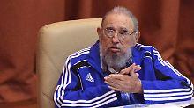Fidel Castro wird 90: Gebeugt, gealtert, aber nie gestürzt