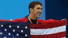Gold Nummer 23: Michael Phelps.