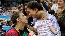 Nach Olympia geht's vor den Altar: Phelps Verlobte verrät Hochzeitsdetails