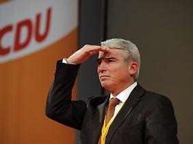 Thomas Strobl, historisch etwas ungenauer CDU-Generalsekretär.