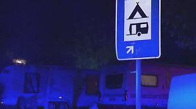 """Nächtlicher Polizeigroßeinsatz: Irische """"Pilger"""" campen nun im hessischen Eppstein"""