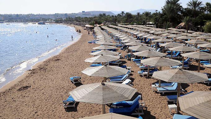 Scharm el Scheich leidet unter dem Touristenmangel.