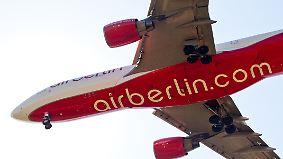 Lufthansa übernimmt 40 Flugzeuge: Air Berlin entlässt bis zu 1200 Mitarbeiter