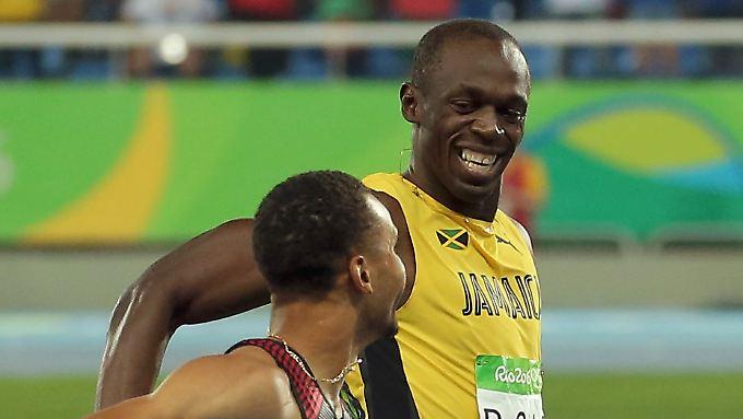 Der schnellste Mann der Welt: Usain Bolt will in London seine Legende weiterschreiben.