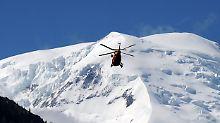 Deutscher Bergführer verschüttet: Drei Menschen sterben am Mont Blanc