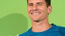 Gomez unterschreibt für drei Jahre beim VfL Wolfsburg.