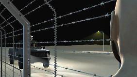 """Mexikanische Grenze: Trump: """"Wir bauen eine große Mauer"""""""