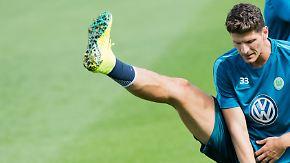 """""""Unser Ziel ist Europa"""": Gomez trainiert erstmals beim VfL Wolfsburg"""