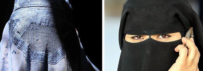 Ertragen oder verbieten?: AfD scheitert mit Burka-Antrag im Bundestag