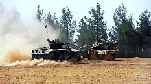 Vergeltungsschlag in Nordsyrien: Bericht: Türkei greift IS-Stellungen an
