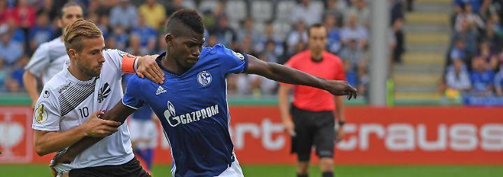 Embolo stürmte zuvor für den FC Basel und schlug bereits mehrere hochkarätige Angebote aus. Nun soll er auf Schalke zeigen, was er kann.