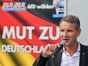 Björn Höcke gehört dem rechtsnationalen Flügel der AfD an.