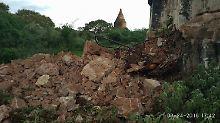 Erdbeben in Myanmar: Beben beschädigt Bagan-Tempel