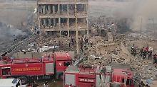 Anschlag im Südosten der Türkei: Autobombe explodiert vor Polizeistation