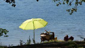 Verbreitet 30 bis 36 Grad: Sommer zeigt seine ganze Kraft