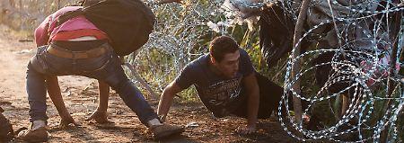 Stacheldraht reicht nicht mehr: Viktor Orban plant Wall gegen Flüchtlinge