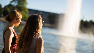 Bis zu 27 Grad möglich: Sommer macht Weg für den Herbst noch nicht frei