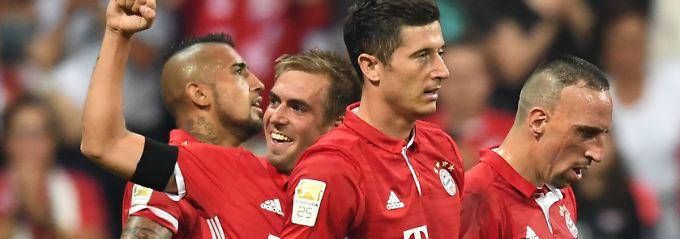 Ancelotti mit Traum-Debüt: Bayern München überrollt Werder Bremen