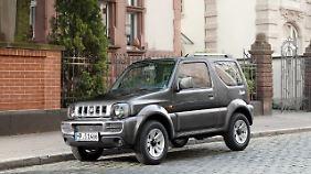 Seit 1998 wird der Jimny in Deutschland verkauft.