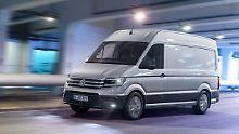 Großer Bruder für den California: VW hat Reisemobil-Pläne mit dem Crafter