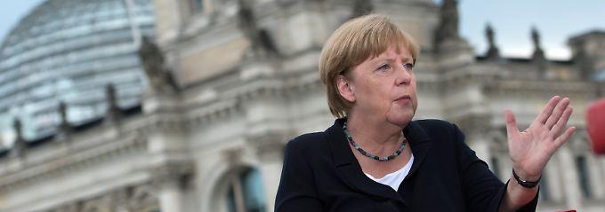 """Merkel im TV-Interview: """"Ich bin auch Kanzlerin der Deutschtürken"""""""