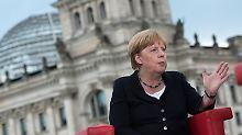 """Merkel im Sommerinterview: """"Ich bin auch Kanzlerin der Deutschtürken"""""""