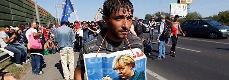 Ein Abend im September: Als Merkel die Grenze öffnete