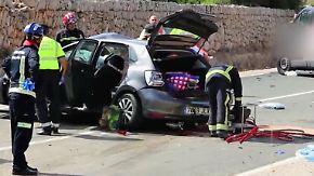 Eltern und zwei Kinder tot: Deutsche Familie stirbt bei Unfall auf Mallorca