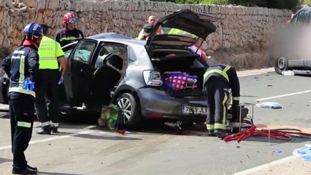 Unfall Mallorca Deutscher