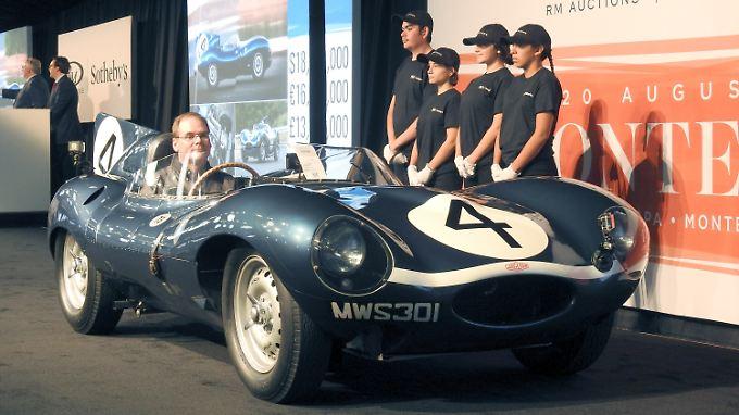 Ein letztes Highlight der Jaguar D-TYpe wurde auf der Monterey Car Week für 21,78 Millionen Dollar versteigert.