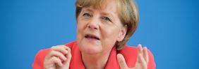 CDU vor Wahldilemma in MV: Merkel sieht Fehler in der Flüchtlingspolitik in der Vergangenheit