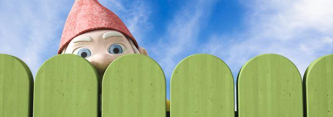 Es gibt so einiges, worüber sich Nachbarn ärgern - auch über Zäune.