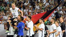DFB-Elf in der Einzelkritik: Bastis Buddys und Löws kalte Hose
