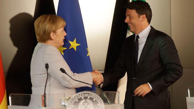 Übereinstimmung com Italien