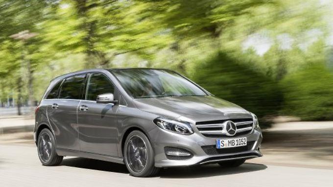 Seit 2011 baut Mercedes die zweite Generation der B-Klasse.