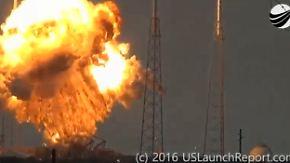 Herber Rückschlag für SpaceX: Falcon-9-Rakete explodiert auf Weltraumbahnhof Cape Canaveral